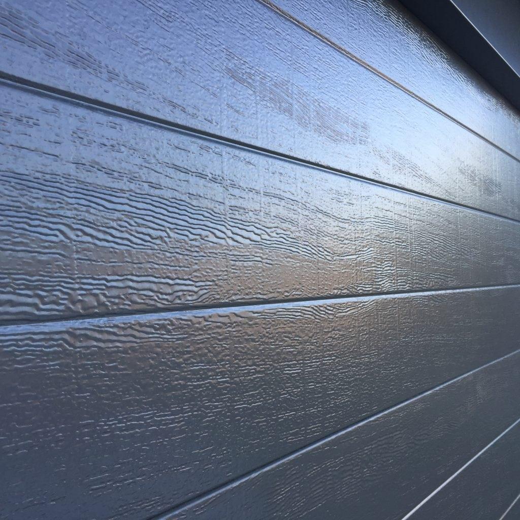 Panel lift doors