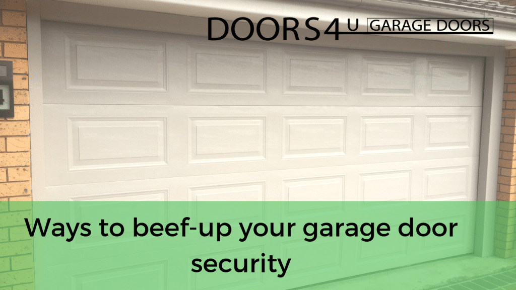 Tips to Secure Your Garage and Protect Your Household - Secure your garage