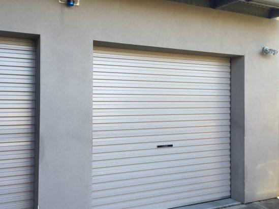 Roller Lift Door (white